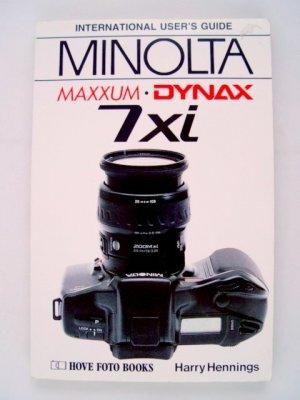 Hove Foto International Users Guide for Minolta Maxxum/Dynax 7xi