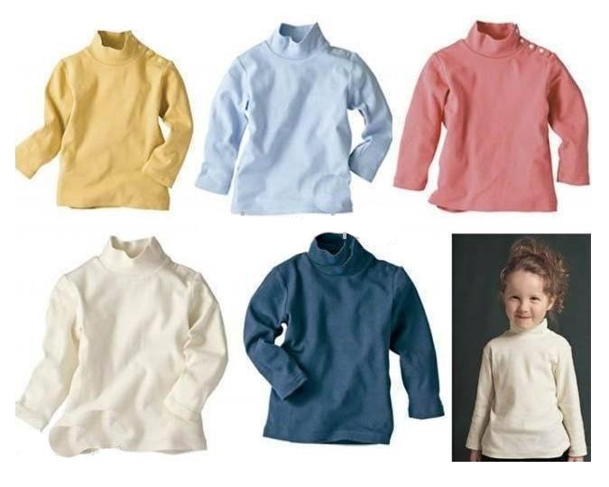 Wholesale - COMBI Baby T-shirts sweaters underwears kids rendering Cotton shirt R41
