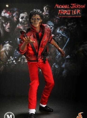 Hot Toys Michael Jackson red Thriller Zombie Version doll