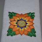 """Mexican Sunflower"" Kitchen Dishtowel"