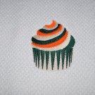"""St. Patrick's Day """"Irish Cream Cupcake"""" Kitchen Dishtowel"""