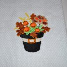 """Blooming In Thanksgiving"" Kitchen Dishtowel"