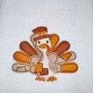 """""""Patchwork Turkey"""" Thanksgiving Kitchen Dishtowel"""