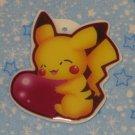 Valentine Pikachu Keychain