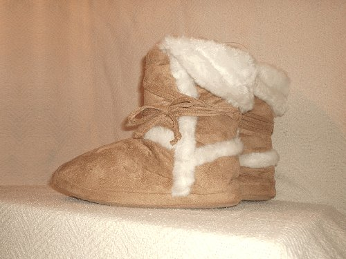 NEW! Candie's® Bootie Slippers - Sm - K1101_00101