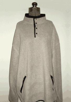 Outersport Activewear® Oatmeal Fleece - XL - S1101-00103