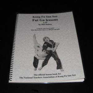 Fut-Ga Lesson Book - Kung Fu San Soo
