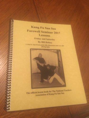 2017 Farewell Seminar Lesson Book.