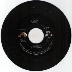 ELVIS PRESLEY - U.S. MALE-STAY AWAY RCA VICTOR  45 RPM RECORD 47-9465