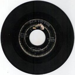 Elvis Presley - DON'T BE CRUEL - HOUND DOG RCA VICTOR 45 RPM RECORD 47-6604