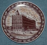 J. M. SEALTS Co. 100th ANNIV. COMM. PLATE - LIMA, OHIO