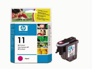 NEW IN SEALED BOX GENUINE HP C4837AN 11 MAGENTA CARTRIDGE FREE SHIPPING