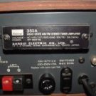 SANSUI 350A STEREO TUNER AMPLIFIER VINTAGE RECEIVER