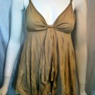 SHAMELESS Tan Baby Doll Top - Size Medium