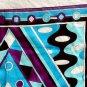"GORGEOUS *Vintage* EMILIO PUCCI Firenze FUILIO Scarf Cotton Geometric 22"" Square"