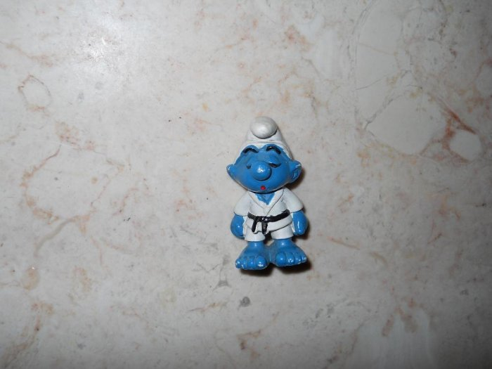 Smurf - Karate Outfit - 1981