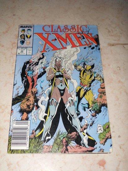Classic X-MEN #32 - April 1989 - Marvel