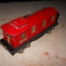 Lionel - #1682 - Red Box Car With Yellow Windows - Metal