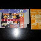 NAMCOMUSEUM 64 - Nintendo - N64 - Box & Instructions Only - 1999