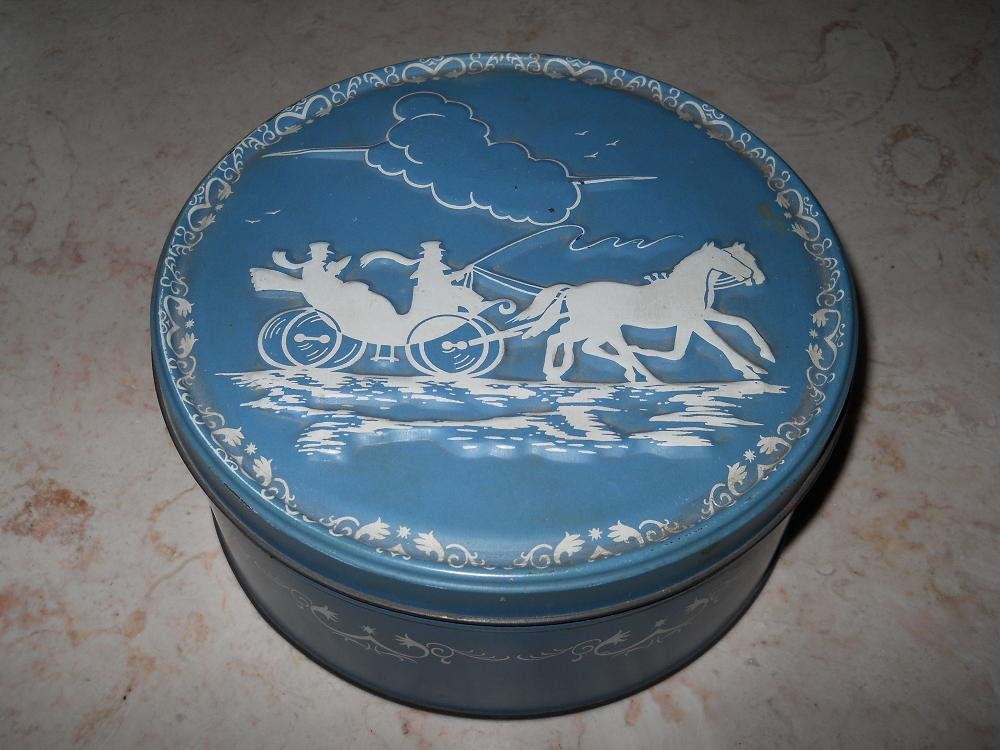 Horse And Carriage - Storage Tin