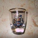Shot Glass - Canada Emblem - Made In France