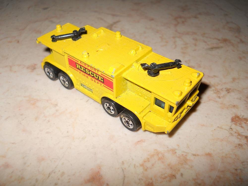 Airport Rescue Fire Department - Hot Wheels - 1979