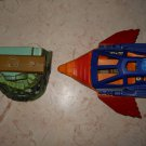 Point Dread & Talon Fighter - Mattel - 1983 - Masters Of The Universe - Incomplete