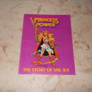 The Story Of She-Ra - Mini Comic - Masters Of The Universe - 1985