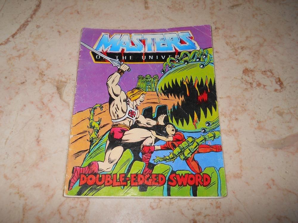 Double-Edged Sword - Mini Comic - Masters Of The Universe - 1983