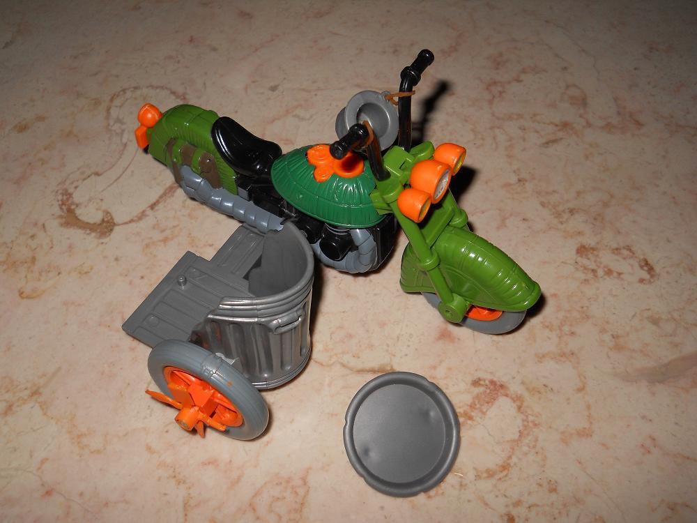 Turtlecycle - Playmates - 1989 - Teenage Mutant Ninja Turtles - Complete