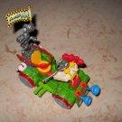 Toilet Taxi - Playmates - 1990 - Teenage Mutant Ninja Turtles - Complete