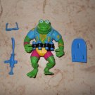 Genghis Frog - Playmates - 1989 - Teenage Mutant Ninja Turtles - Complete