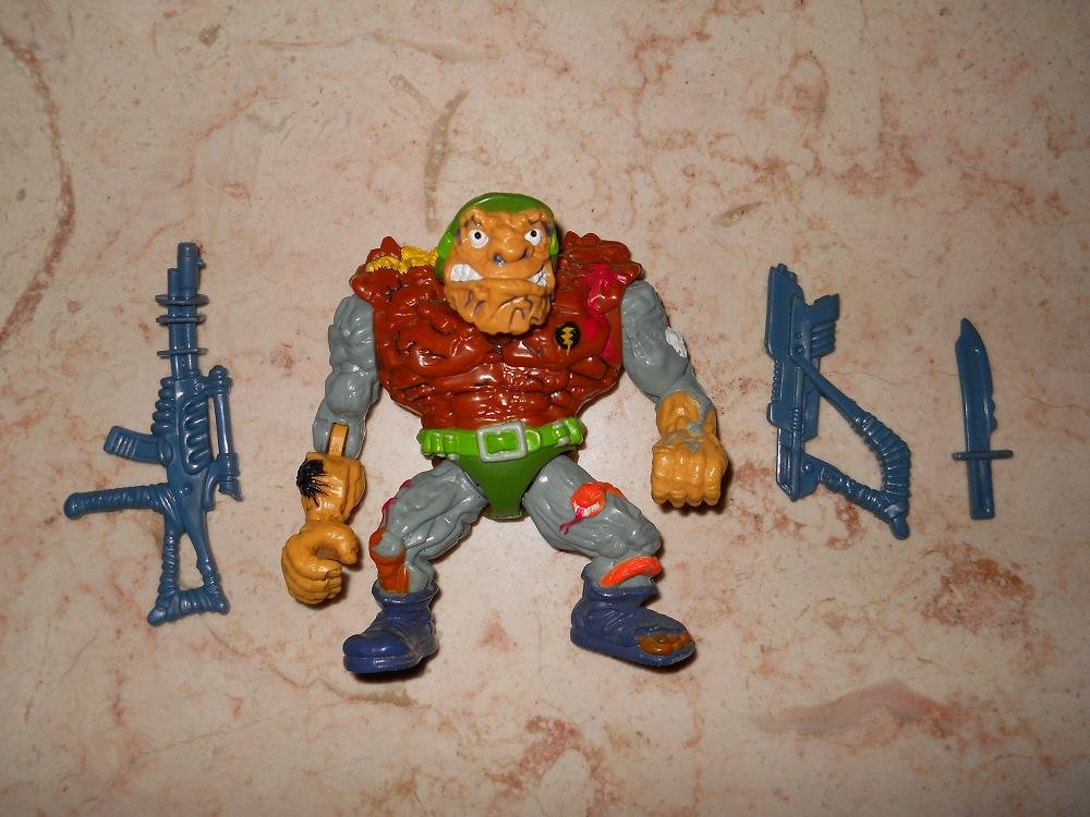 General Traag - Playmates - 1989 - Teenage Mutant Ninja Turtles - Complete