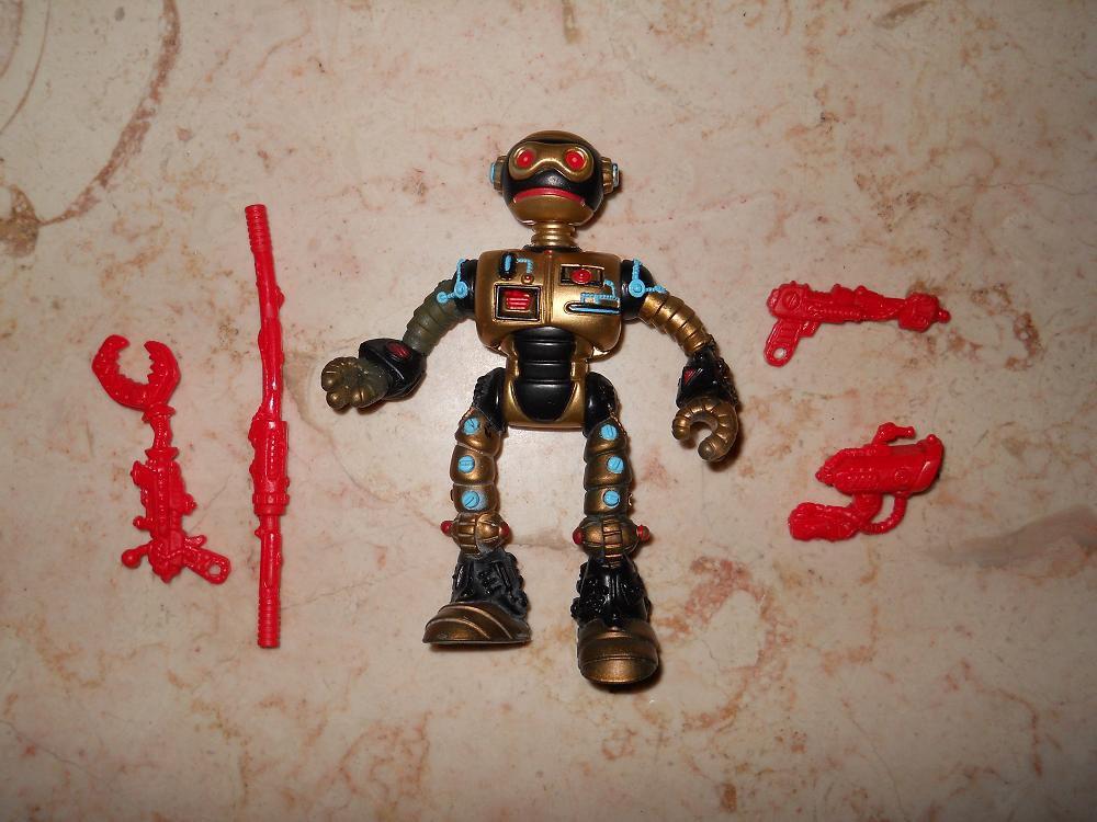 Fugitoid - Playmates - 1990 - Teenage Mutant Ninja Turtles - Complete