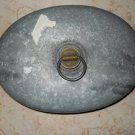 DRGM - Metal Hot Water Bottle - Brass Screw On Cap - Vintage