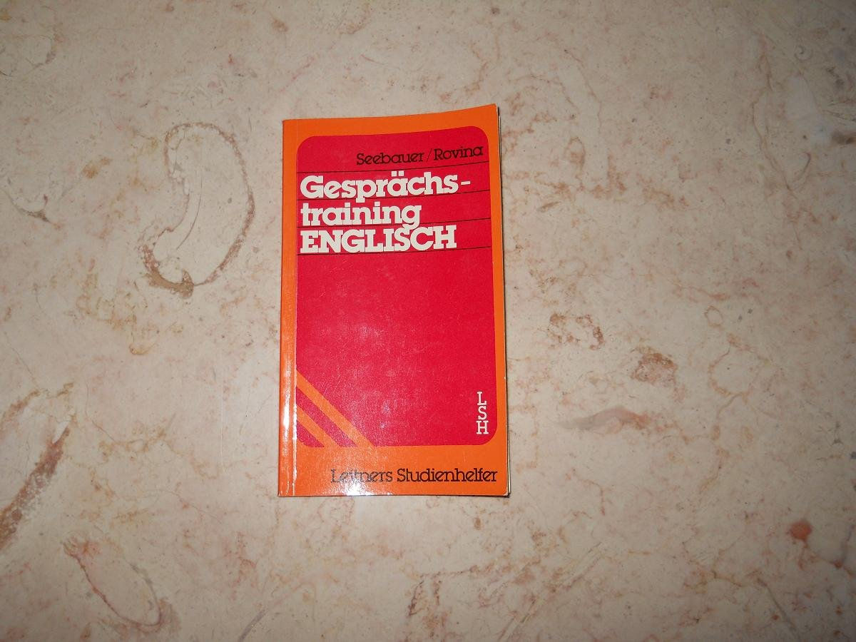Gesprachs-Training English - Verlag Leitner - 1985 - ISBN 3851570456