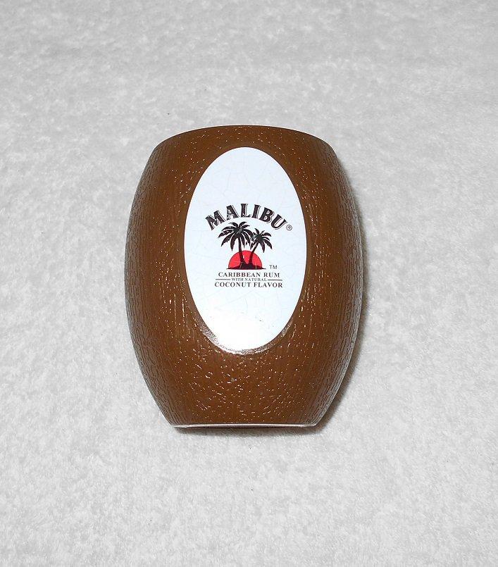 Malibu Caribbean Rum - Coconut Shaped Cup - Plastic