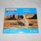 Creatology - 3-D Wooden Kangaroo Puzzle - New