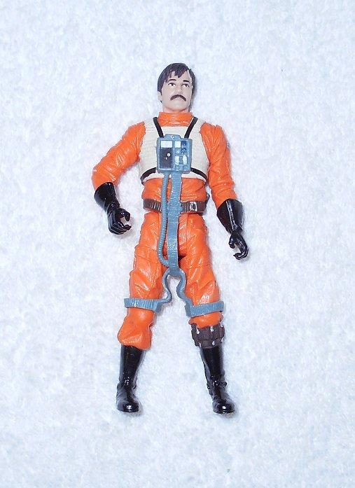 Rebel Pilot Biggs Darklighter - Star Wars - Hasbro - 2004 - Figure Only