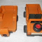 Fisher-Price - Safari - Truck & Trailer - Orange - Vintage