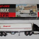 Snap-On - Ford Aeromax Tractor Trailer Bank - 1:36 Scale - Includes Box - 2000