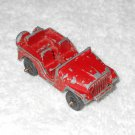 Midgetoy - Jeep - Red - Metal - Vintage
