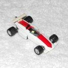 Aviva - Open Top Race Car - #C6 - White & Red - Metal - 1965