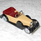 Matchbox - 1938 Lagonda Drophead Coupe - #Y-11 - Tan & Black - Metal - 1972