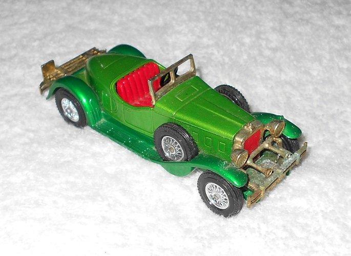 Matchbox - 1931 Stutz Bearcat - #Y-14 - Green - Metal - 1974