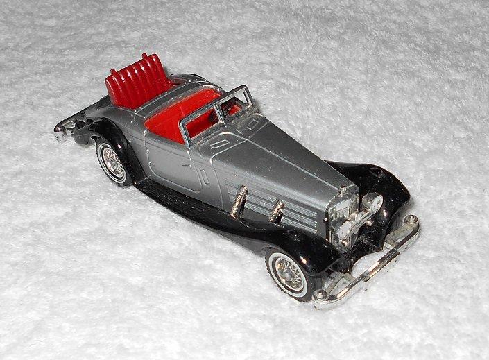 Matchbox - 1937 Mercedes-Benz 540 K - #Y-20 - Silver & Black - Metal - 1979