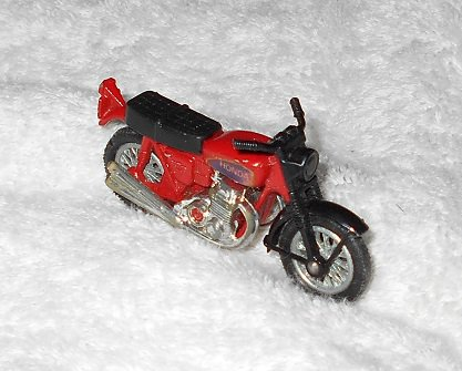 Hondarora - #5 - Matchbox - Red - Metal - 1974