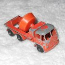 Foden Cement Mixer - #26 - Matchbox - Orange - Metal - Vintage