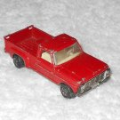 Ford Pick-Up - #6 - Matchbox - Red - Metal - Vintage