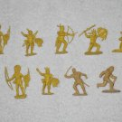Wild West 2 Inch Plastic Figurines - 9 Piece Collection - Vintage